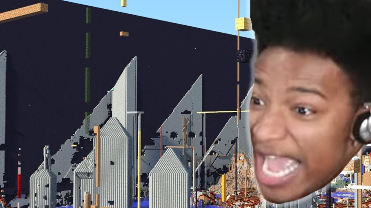 2b2t - Finding Etika at Spawn