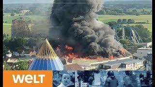 Glück im Unglück: Europa-Park Rust will nach Großbrand wieder öffnen