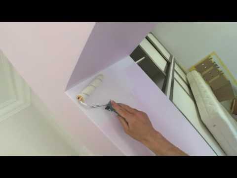 Покраска водоэмульсионной краской. Весь процесс ! (Часть-2)