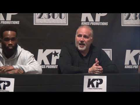 King's promotions Press Conference   Robinson vs Riojas