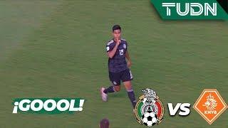 ¡Gol de México que empata el partido! | México 1 - 1 Holanda | Mundial Brasil Sub17 Semifinal | TUDN