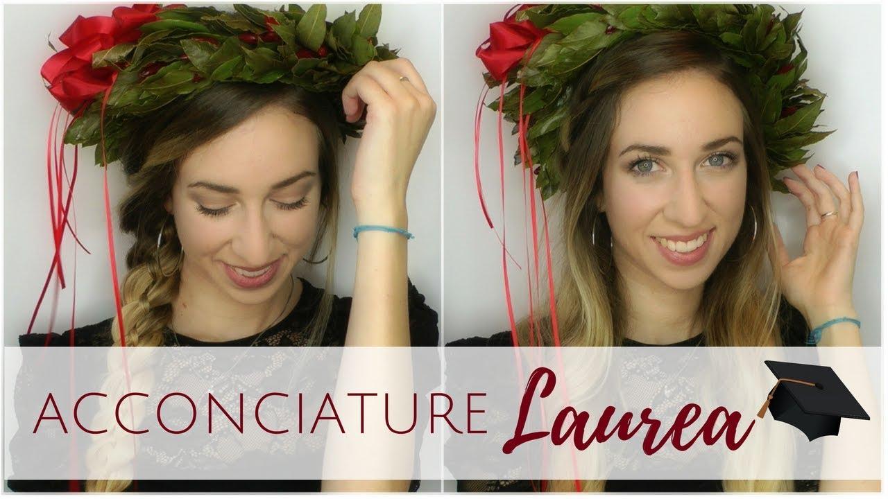 Conosciuto Acconciature per la LAUREA | Silvia Viscardi - YouTube OE42