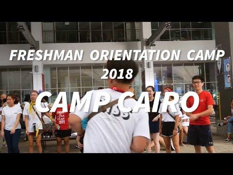 CASS Freshmen Orientation Camp 2018: Camp Cairo
