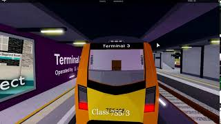 Hi youtuber Have New Train Is Class is 755/3 and 4 In SCR In Roblox