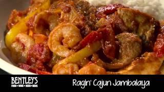 Bentley's Bar Inn Restaurant: Ragin' Cajun Jambalaya