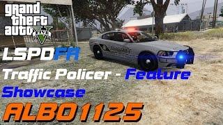 Traffic Policer Feature Showcase | GTAV LSPDFR | Albo1125