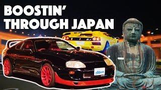 Wild Supra Ride & Tokyo's Craziest Car Meet (feat. GTR & Buddha!) - Albon In Japan - EP02