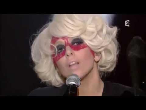 Lady Gaga speaking French - PART 2
