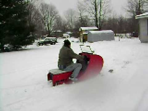 Popular Science  Home Built Snowmobile