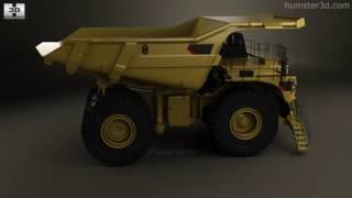 Caterpillar 797F Dump Truck 2009 3D model by Humster3D.com