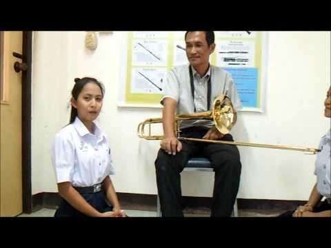 รายวิชาทฤษฎีเอกนาฏศิลป์ไทย ม.6/57ดนตรีสากล(ประเภทเครื่องเป่า)