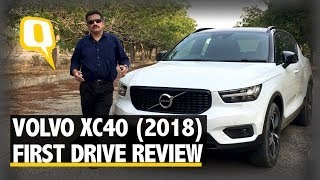 Volvo XC40 (2018) First Drive Review