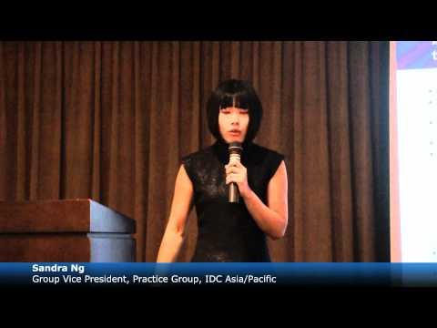 IDC Asia/Pacific Speaker's Bureau - Sandra Ng