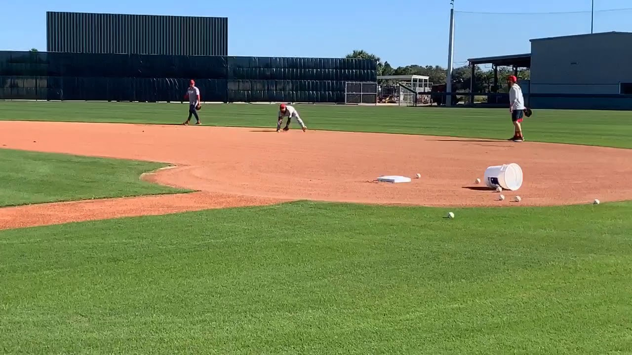 Dustin Pedroia takes grounders for first time during Boston Red Sox 2019 spring training camp