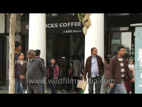 "Starbucks Coffee ""A Tata Alliance"" in Delhi"