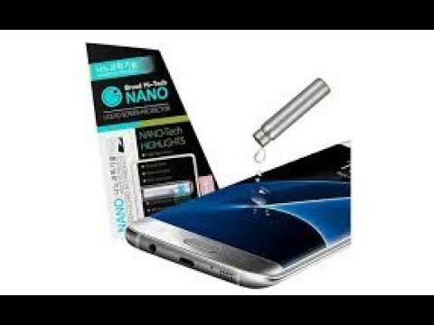 How To Apply Nano Technology Invisible Liquid Glass Screen Protector