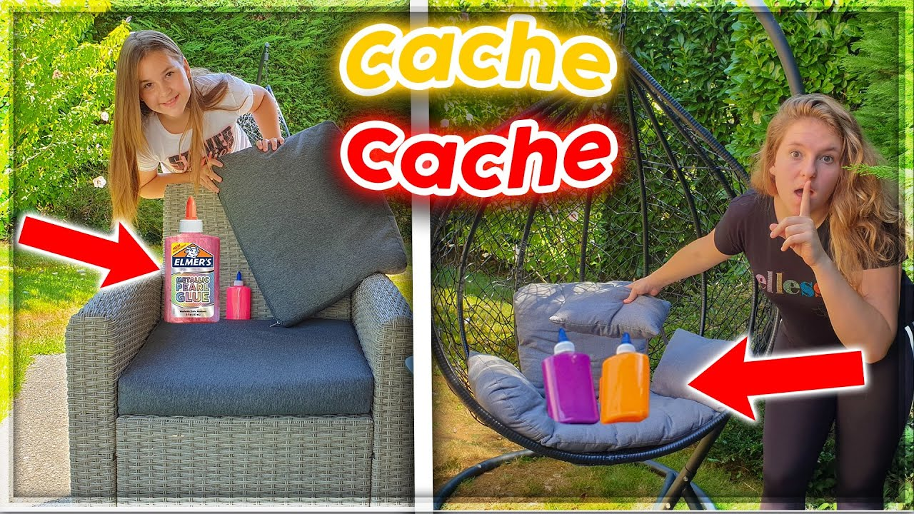 Cache Cache - Hide and Seek Slime Challenge !