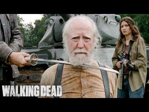 The Governor Kills Hershel | The Walking Dead Classic Scene |