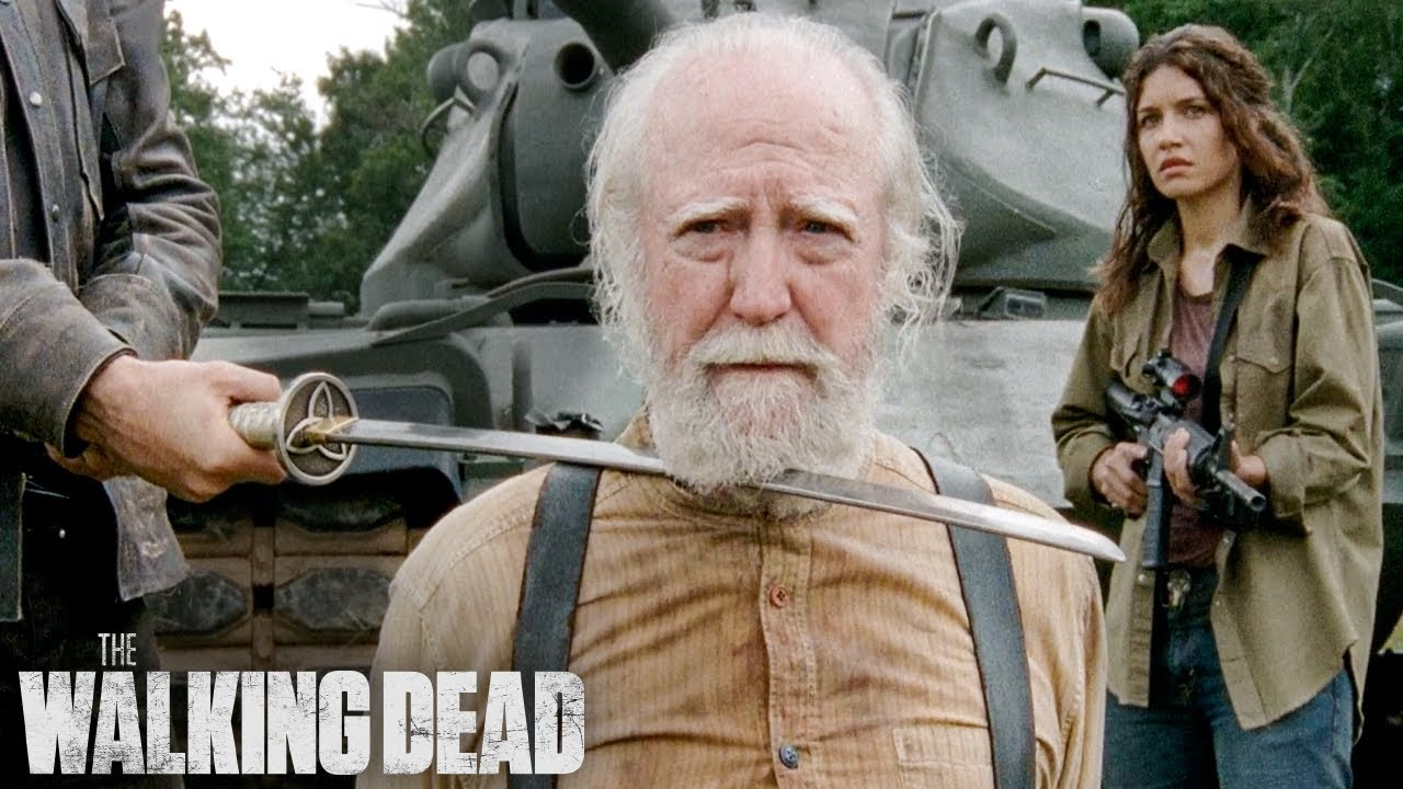 Download The Governor Kills Hershel | The Walking Dead Classic Scene