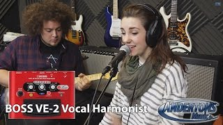 BOSS VE-2 Vocal Harmonist Stomp Box