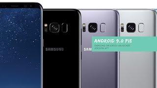 Android 9 Samsung S8+ SM-G955U Unlocked Version (ATT)
