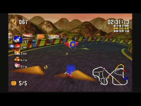 sonic r free  game pc