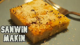 tasty burmese semolina cake sanwin makin recipe