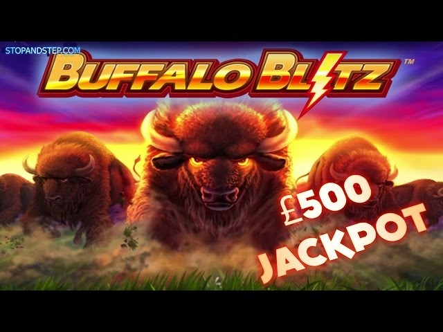 Buffalo Blitz with FREE SPINS BONUS and £30 SPINS in Coral Bookies
