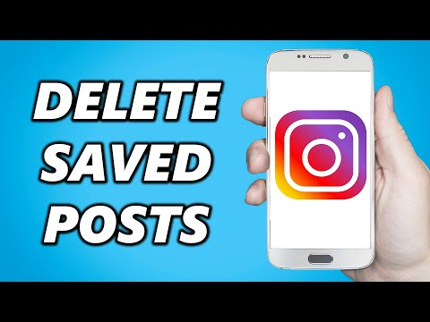 How To Delete All Saved Posts On Instagram At Once!