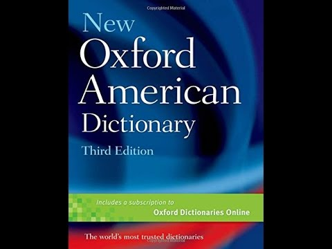 ['PDF'] New Oxford American Dictionary 3rd Edition
