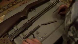 Remington model 34 assembly