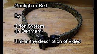 Gunfighter Belt review - Orion System - Tactical.dk