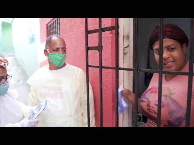 """Programa """"Un millón de mascarillas"""" beneficia residentes sectores Santo Domingo Norte."""