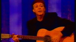 Paul McCartney - Yesterday LIVE - Friday 3 December 1999 - RARE!