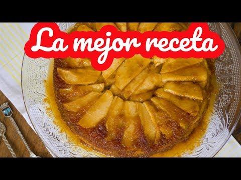 TORTA DE MANZANA INVERTIDA EN TRES PASOS!!! apple pie