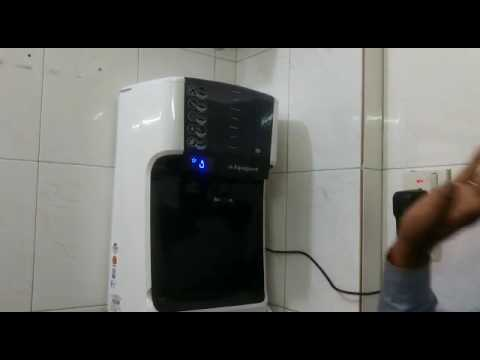Dr. Aquaguard Magna HD UV water purifier demonstration