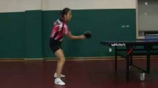 Park Mi Young Chop Forehand Sequence 1