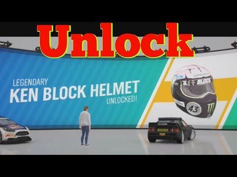 Unlock Ken Block Helmet Forza Horizon 4 thumbnail
