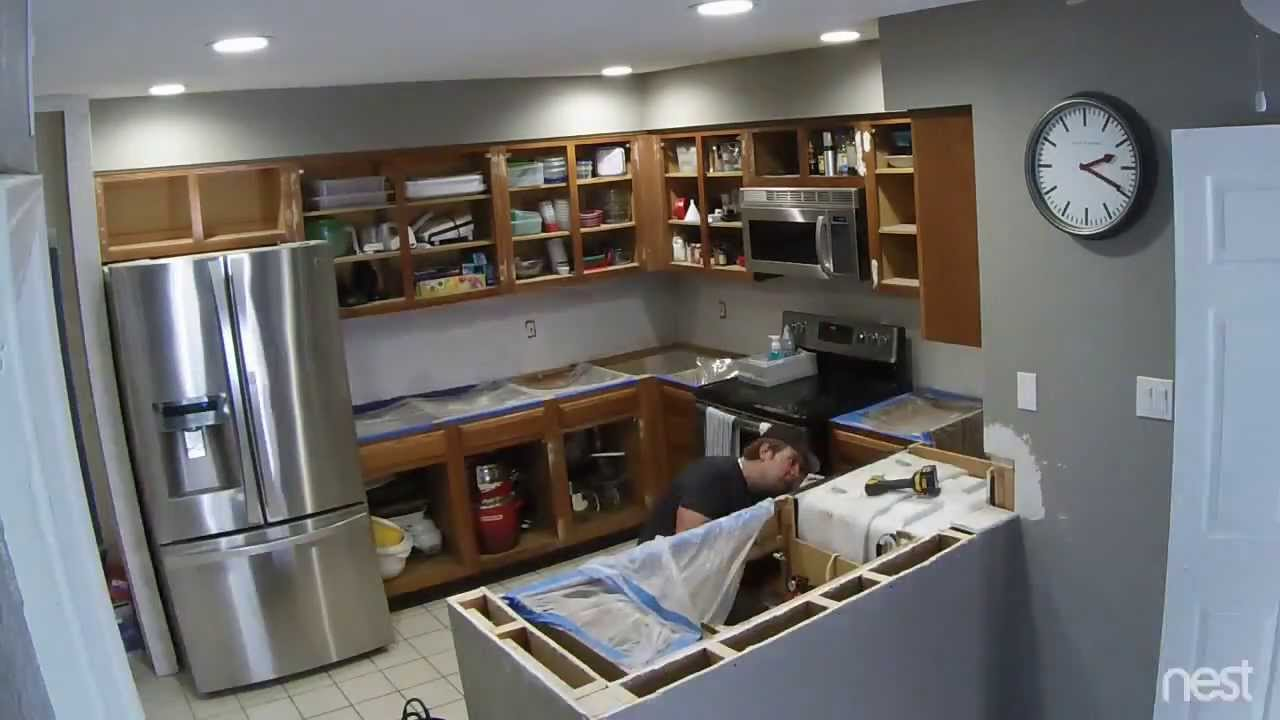 The Kitchen Remodel Youtube