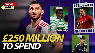 £250 Million To Spend | AFTV Transfer Daily