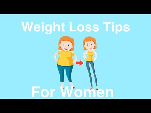 Weight Loss Tips for Women (Weight Loss Wednesday)