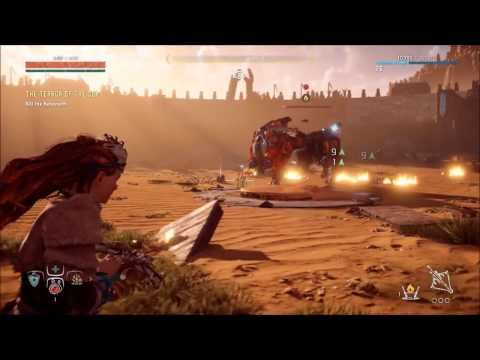 Horizon Zero Dawn Defeat the Behemoth Terror of the Sun Quest