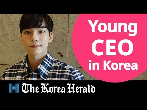 Young CEO in South Korean smart health care market