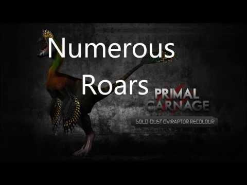 Custom Primal Carnage Oviraptor Sounds. v1