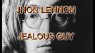 JOHN LENNON - jealous guy karaoke
