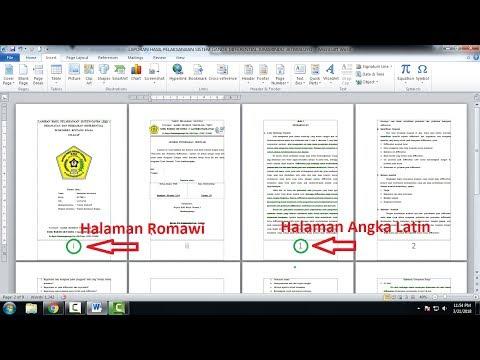Assalamualaikum warahmatullahi wabarakatuh Dalam video ini menjelaskan bagaimana cara menghilangkan nomor di halaman....