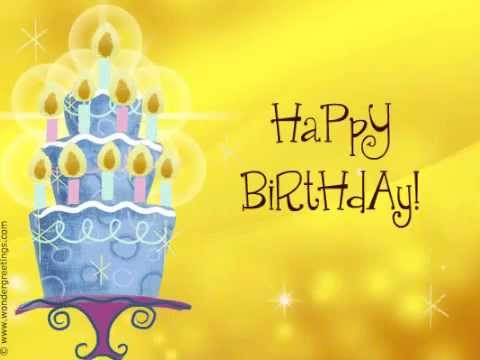 Free Birthday ecards YouTube – Free E Birthday Cards