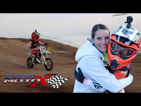 KIDS MOTOCROSS DIRT BIKE PRACTICE ONE WEEK BEFORE FIRST MOTOCROSS RACE | ARE WE READY?!