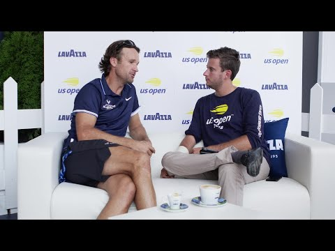 Coffee Talk with Carlos Moya at 2018 US Open