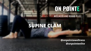Supine Clam